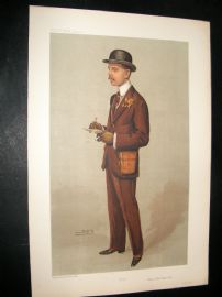 Vanity Fair Print 1905 Mr. William Arthur Hamar Bass